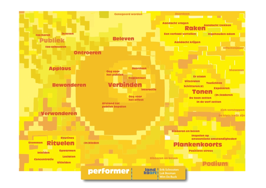 Landkaart performer