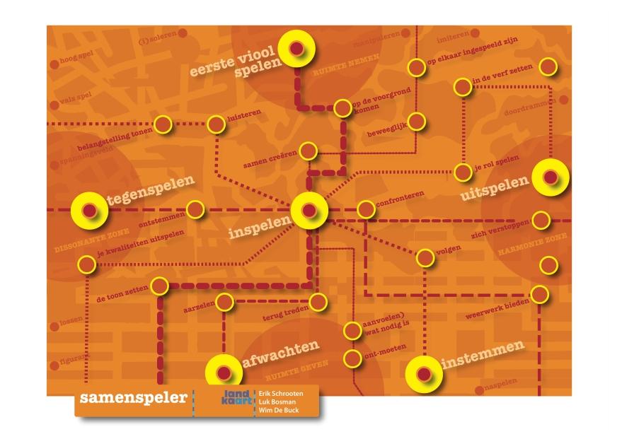 Landkaart samenspeler